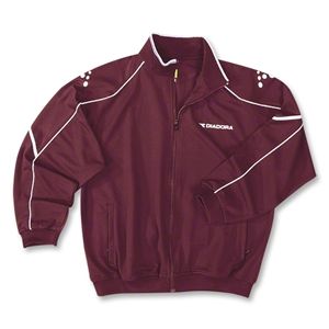 Diadora Squadra Training Jacket (Maroon)