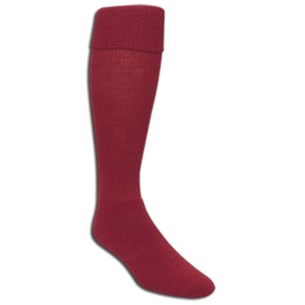 High Five Soccer Socks (Maroon)