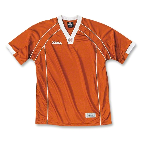 Xara Albion Soccer Jersey (Orange)