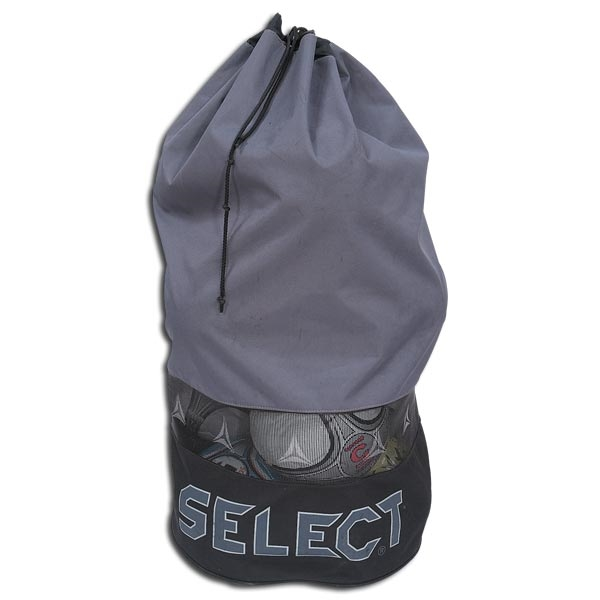 Select Ball Bag with Backpack Straps (Gray)