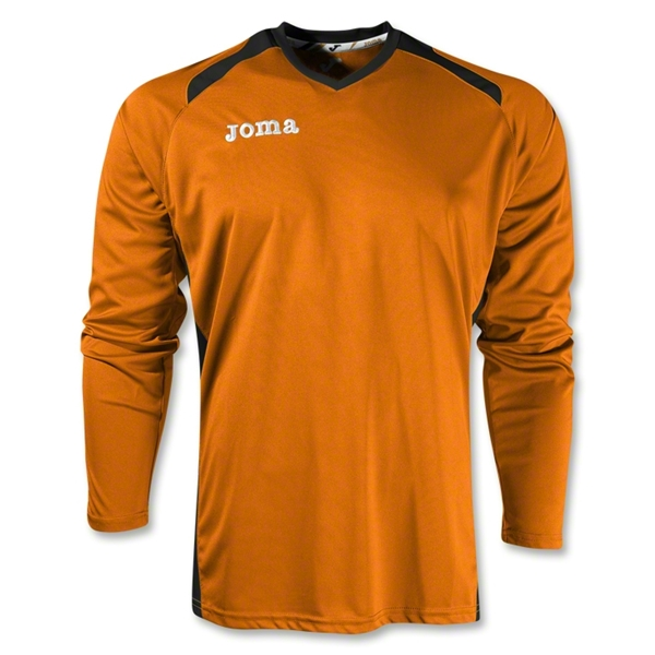 Joma Champion II Long Sleeve Jersey (Org/Blk)