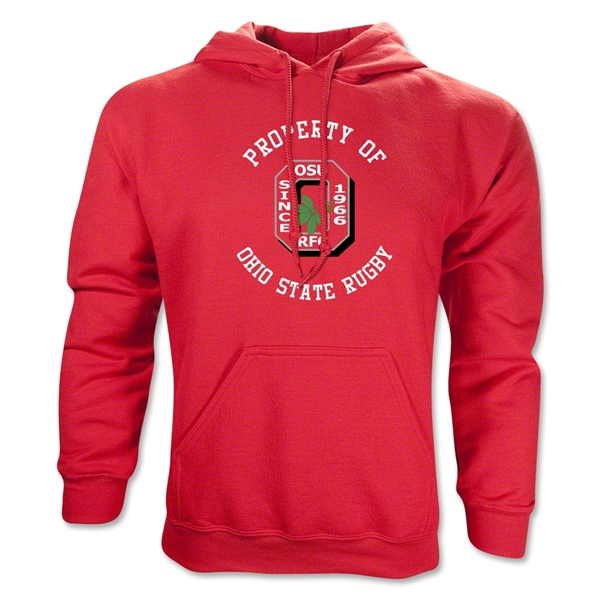 Property of Ohio State Alumni Rugby Hoody (Red)