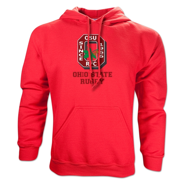 Ohio State Alumni Rugby Hoody (Red)
