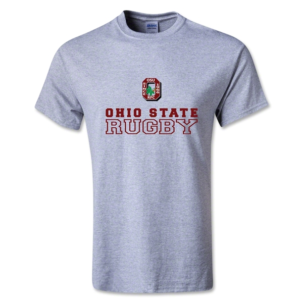 Ohio State Alumni Rugby T-Shirt (Gray)