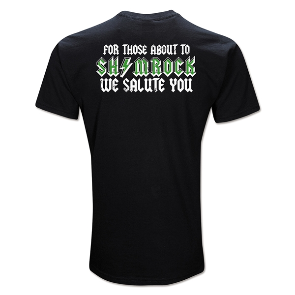 For Those About to Shamrock Rugby T-Shirt