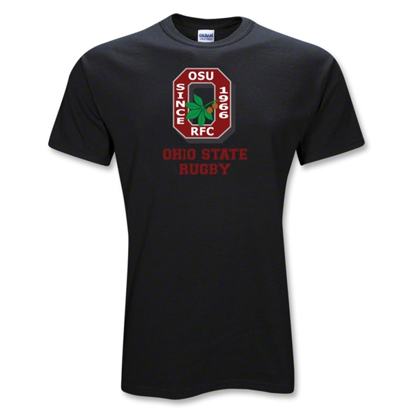 Ohio State Alumni Rugby T-Shirt (Black)