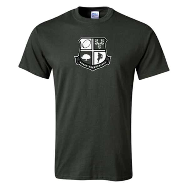 Rugby Connecticut Shield T-Shirt (Dark Green)