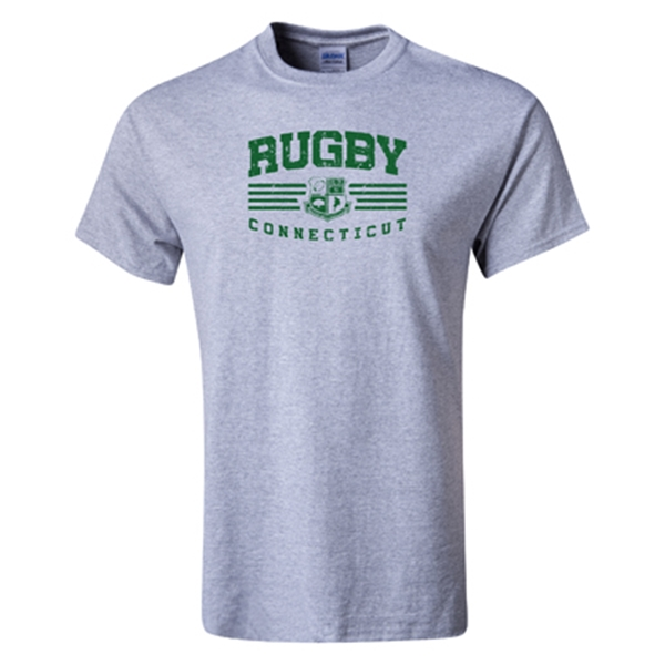 Rugby Connecticut Statement T-Shirt (Grey)