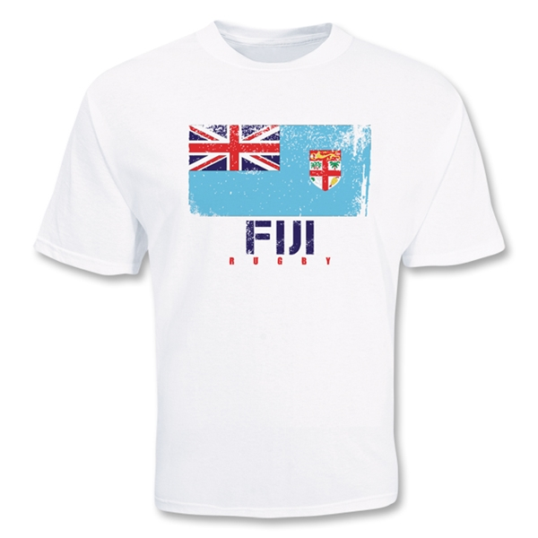 Fiji Country Rugby Flag T-Shirt