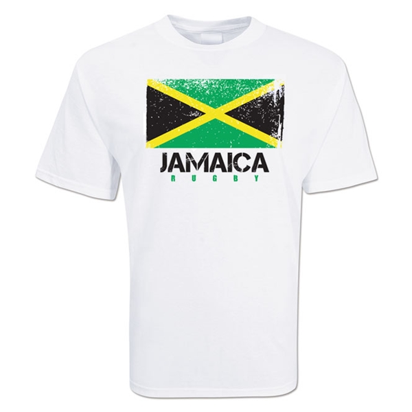 Jamaica Country Rugby Flag T-Shirt