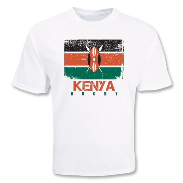 Kenya Country Rugby Flag T-Shirt