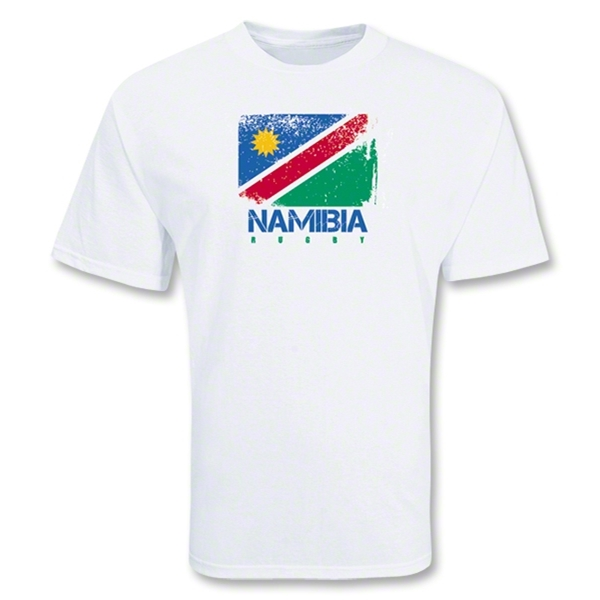 Namibia Country Rugby Flag T-Shirt