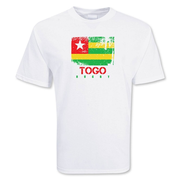 Togo Country Rugby Flag T-Shirt