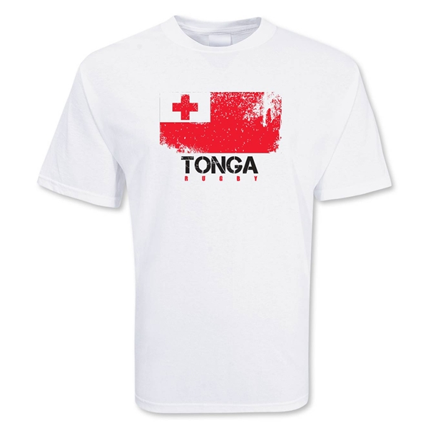 Tonga Country Rugby Flag T-Shirt