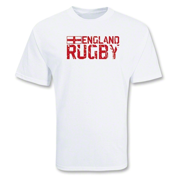 England Country Rugby T-Shirt (White)