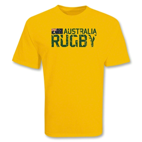 Australia 2011 Rugby T-Shirt (Gold)