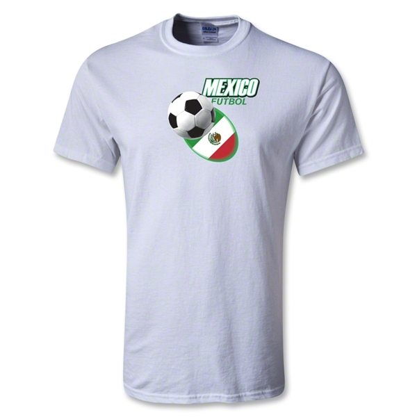 Utopia Mexico Futbol T-Shirt (White)