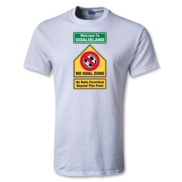 Utopia Goalieland T-Shirt (White)