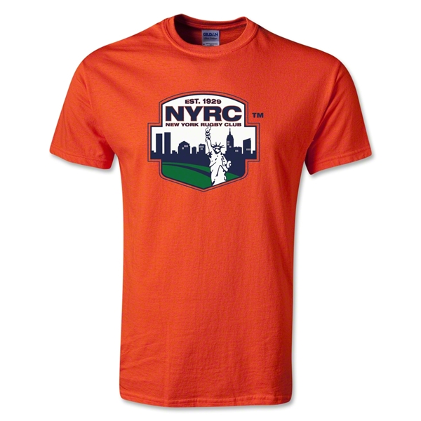 New York Rugby Club T-Shirt (Orange)