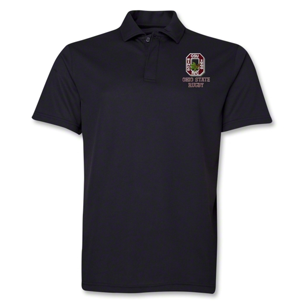 Ohio State Alumni Rugby Polo (Black)