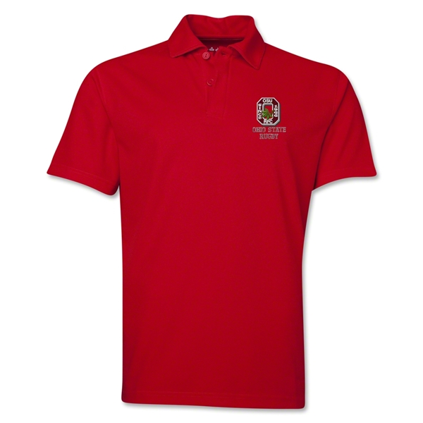 Ohio State Alumni Rugby Polo (Red)