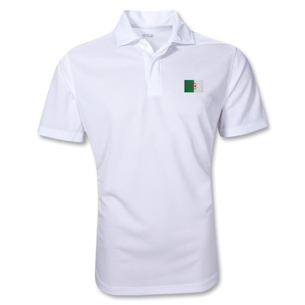 Algeria Polo Shirt (White)