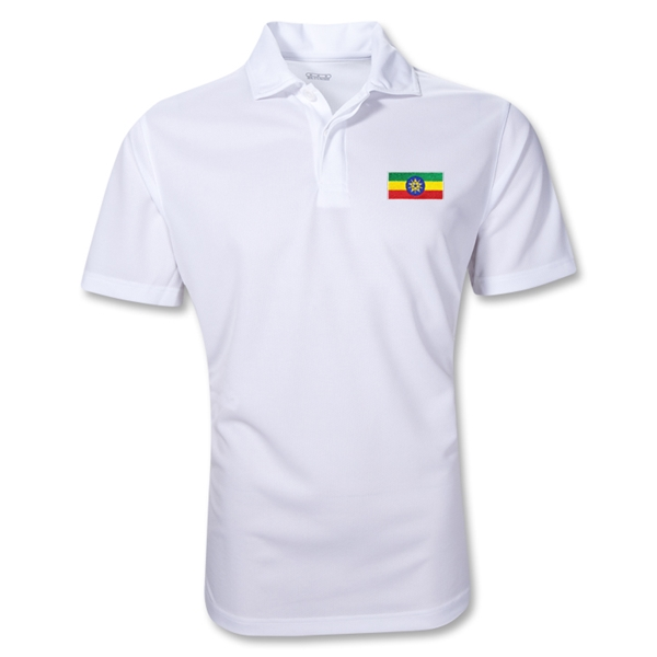 Ethiopia Polo Shirt (White)