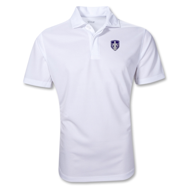 StandUp Crest Polo (White)