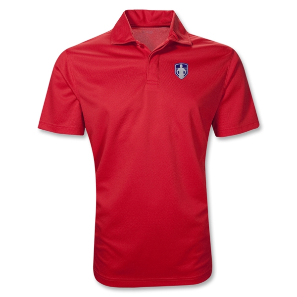 StandUp Crest Polo (Red)