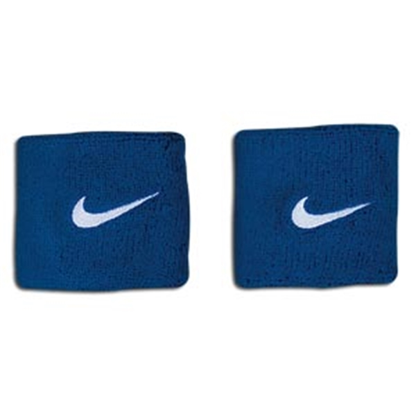 Nike Swoosh Wristbands (Royal)