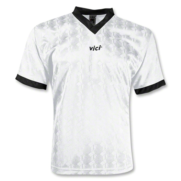 Vici Turin Soccer Jersey (Wh/Bk)