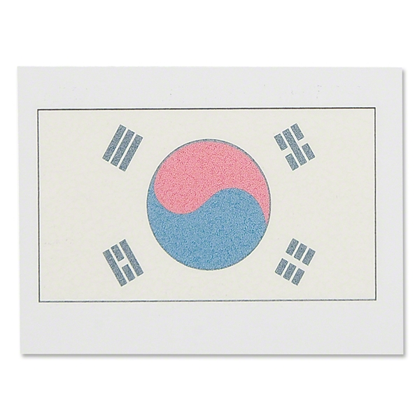 Temporary Tattoo Korea Republic