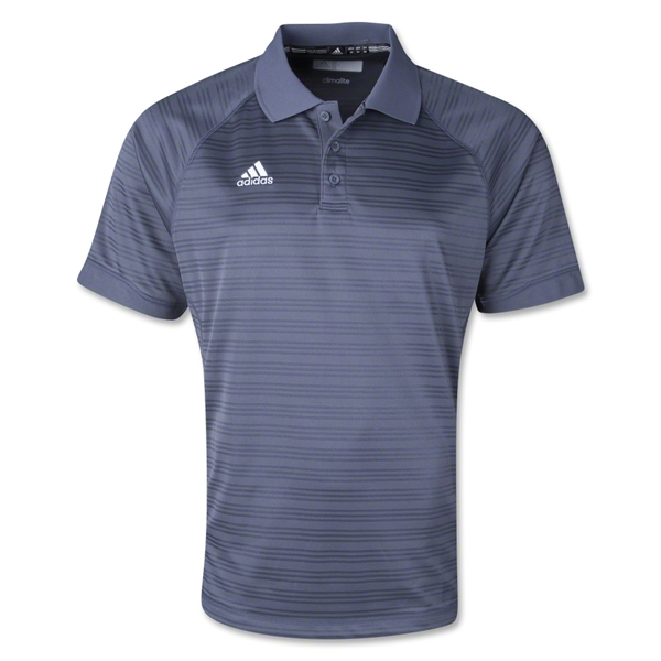 adidas Climalite Team Select Polo (Dark Gray)