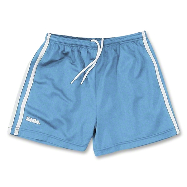 Xara Women's Black Pool Shorts (Sky)