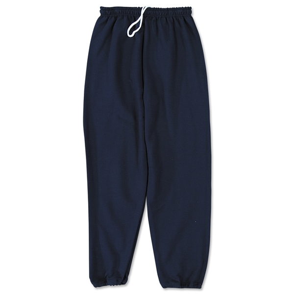 Gildan Sweat Pant w/ Elastic Bottom (Navy)