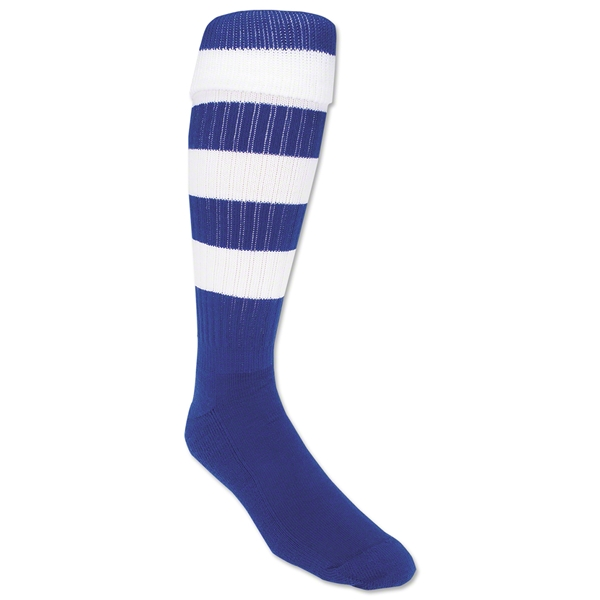 365 Hoop Rugby Sock (Royal/White)