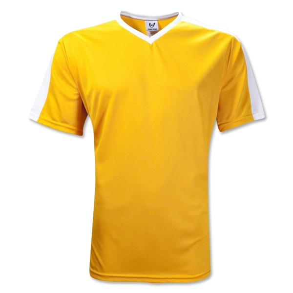 High Five Genesis Soccer Jersey (Gold)