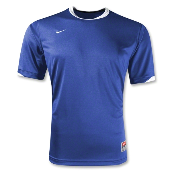 Nike Tiempo Soccer Jersey (Roy/Wht)