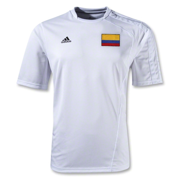 Colombia Sossto Soccer Jersey (White)