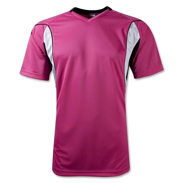 High Five Helix Soccer Jersey (Raspberry)