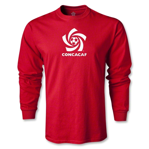 CONCACAF Men's Fashion LS T-Shirt (Red)