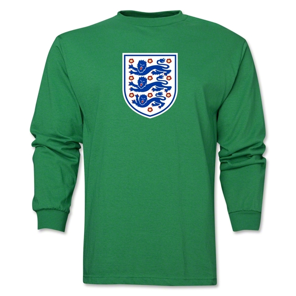 England Core LS T-Shirt (Green)