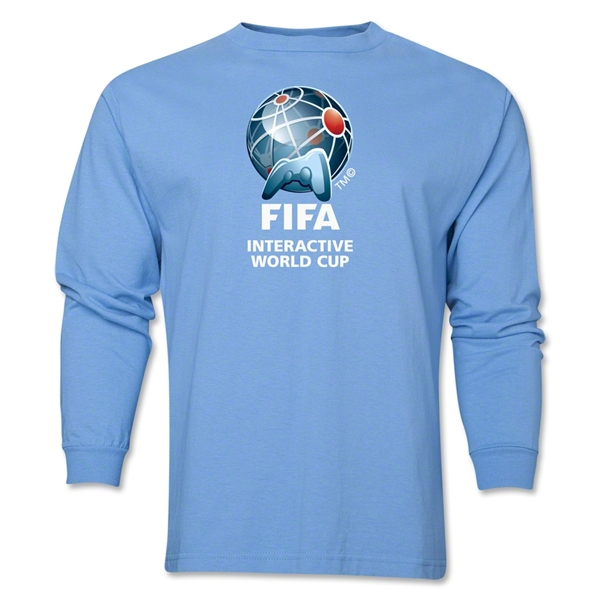 FIFA Interactive World Cup Core Emblem LS T-Shirt (Sky Blue)