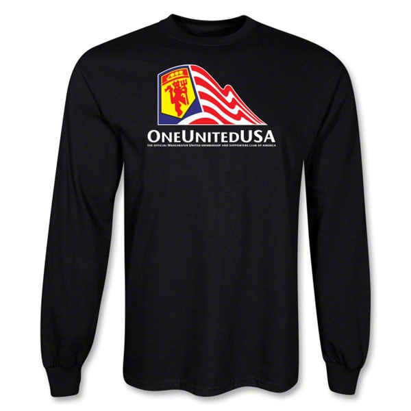 One United USA LS T-Shirt (Black)