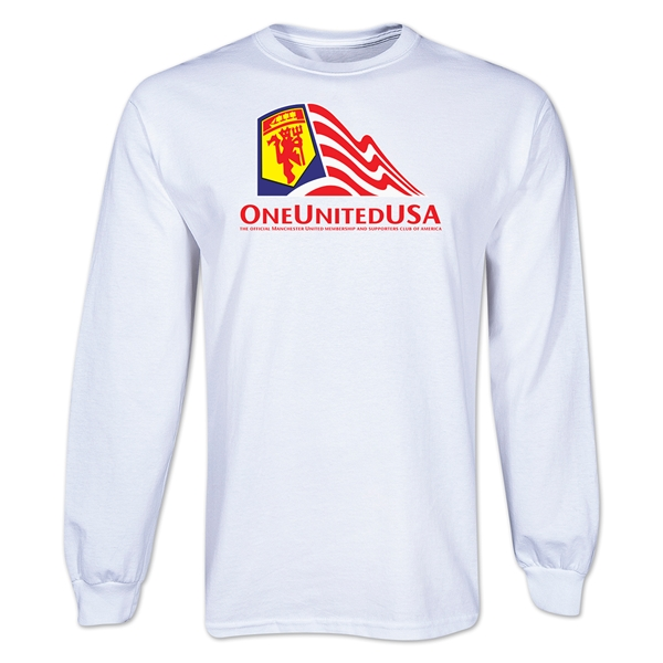 One United USA LS T-Shirt (White)