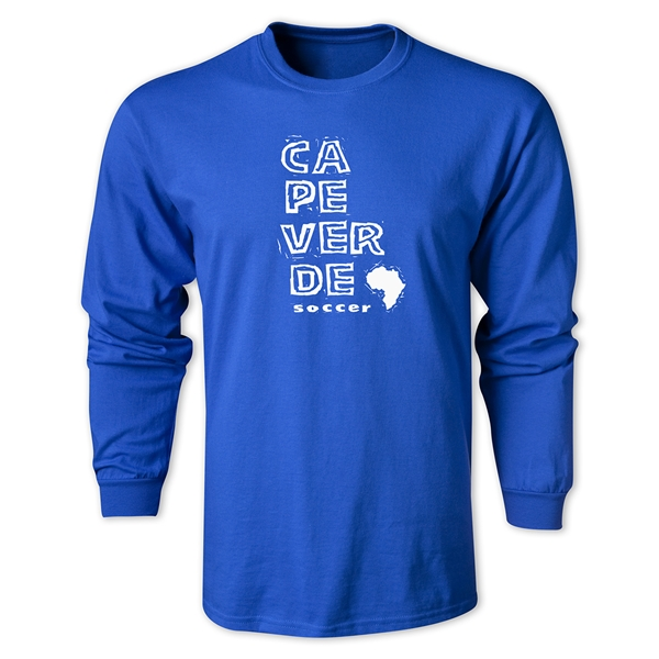 Cape Verde LS Country T-Shirt (Royal)