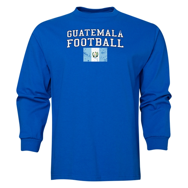 Guatemala LS Football T-Shirt (Royal)