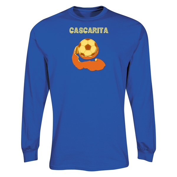 Cascarita LS T-Shirt (Royal)