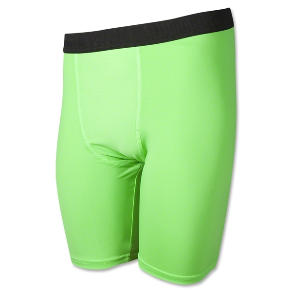 Men's Compression Short (Neon Green)