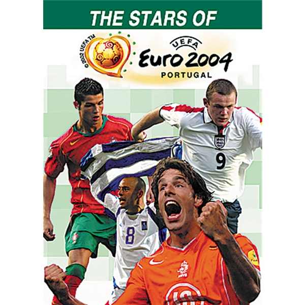 The Stars Of Euro 2004 Soccer DVD